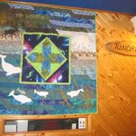 Quilt at the Front Desk