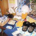 Belinda's Crafts Display
