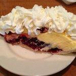 Raspberry Creme Pie