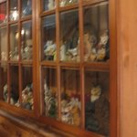 Cat Curio Cabinet