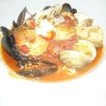Délicieux plat de fruits de mer