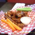 Boneless Chicken Wings - Wednesday Special