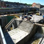 Erie Canal locks 34 and 35