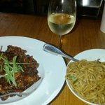 Tangerine Beef & Garlic Noodles