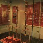 The collection of  three medieval maces since 15th century