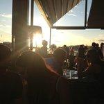 Kvällssol på Piren