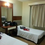 Our Double Superior Room with window, quite std. of cos not as spacious as the photo online. ^-^