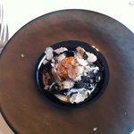 Sint jacobsmossel met truffel