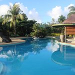 A stunning pool area- extremely clean and well kept