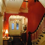 Charming entrance and stairs