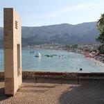 Baska beach area