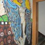 Mural downstairs