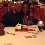 Anniversary dinner at Ruth's Chris Steakhouse