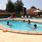 les deux piscines
