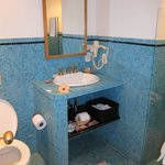 One of the full baths in Room #8