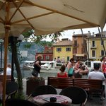 in front of the Italian Restaurant - Malcesine