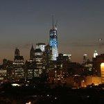 Same view with zoom lens - Manhattan seems so close