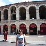Verona - in front of the theatre