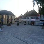 Bad Krozingen in the evening