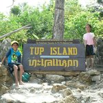 We made it to Tup Island!