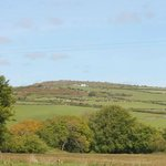 The surrounding moors visible from outside your barn