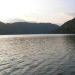 Scorcio del lago di Levico