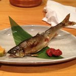 grilled sweet fish
