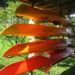 Our WS Pungo rental kayaks: Pungo 100, 120, 140