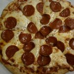 A beautiful picture of our award winning pizza