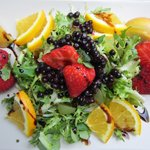 my delicious salad - perfect in the heat