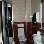 Badkamer met verwendouche