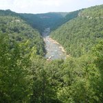 Honey Creek Overlook. in the southern portion of the  Big South Fork.