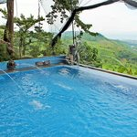 Infinity pool overlooking most parts of Rizal