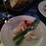 Asparagus Shrimp Appetizer