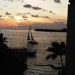 Sunset in Key West from The Galleon Resort