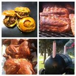 BBQ Saturday's 11 AM to 4 PM : Sticky Pig Pulled Pork Sandwich on Donut, Ribs & Chicken