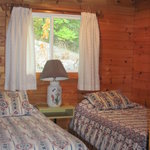 Twin Beds in Chalet
