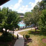 View of the pool from room 2658