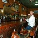 Lunch at the bar.  Seating....saddles