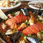 Paella de Mariscos–Mediterranean Shellfish and Fish Paella