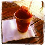 DELICIOUS strawberry daiquiri....Miami Vice was my fav