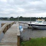 Dock on property