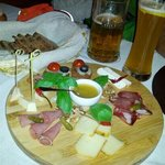 traditional Lithuanian snacks, great starter  to go with beer