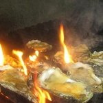 Fire Grilled New Orleans Style Oysters