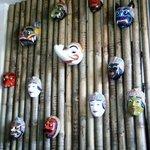 Balinese and Javanese masks