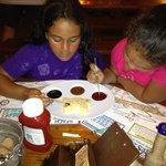 Krispy Crab kids desert