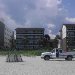 The 3 Riptide Buildings fromthe beach