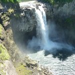 Snoqualmie Falls at the Salish Lodge
