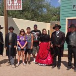 With the Earps, Doc Holliday and Big Nose Kate