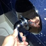 broken tub handle